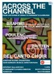 Bel Canto Brahms Poster